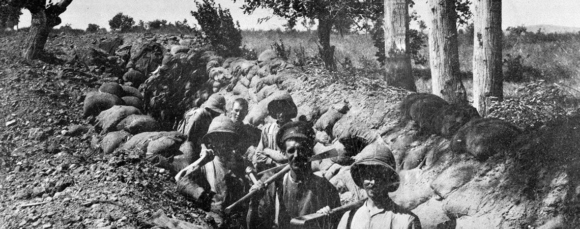 Landing in Gallipoli